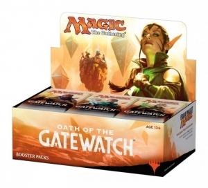 Дисплей бустеров «Oath of the Gatewatch» на английском языке