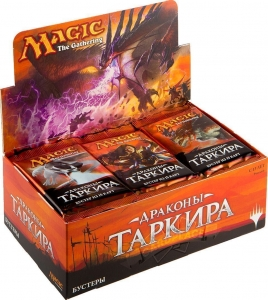 Дисплей бустеров «Драконы Таркира» на русском языке