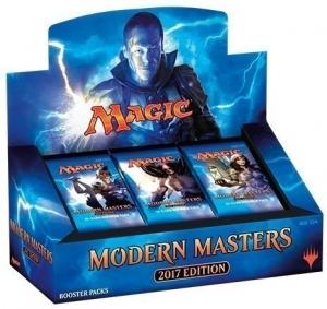 Дисплей Modern Masters 2017 на английском языке