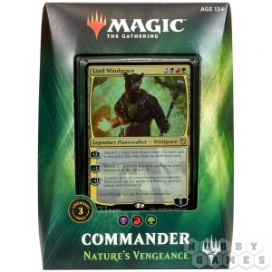 Magic. Commander 2018: Nature's Vengeance