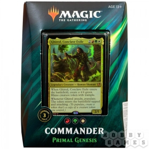 Magic. Commander 2019: Primal Genesis на английском языке