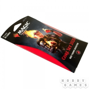 Magic. Core Set 2020 Red Theme Booster
