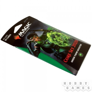 Magic. Core Set 2020 Green Theme Booster