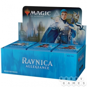Magic. Ravnica Allegiance - дисплей бустеров на английском языке