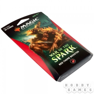 Magic. War of the Spark Red Theme Booster